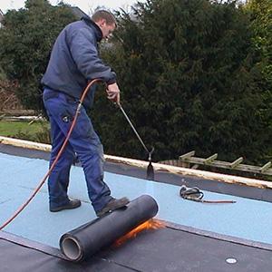 Lek dak repareren havelte